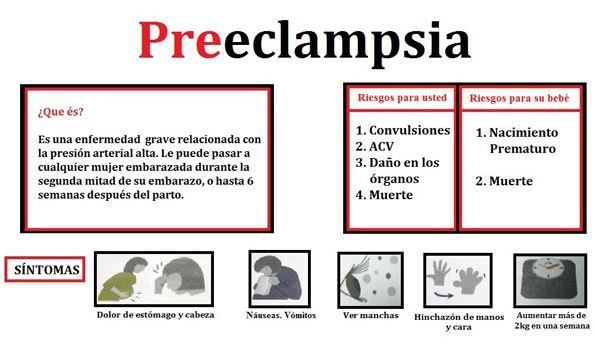 preeclampsia sintomas
