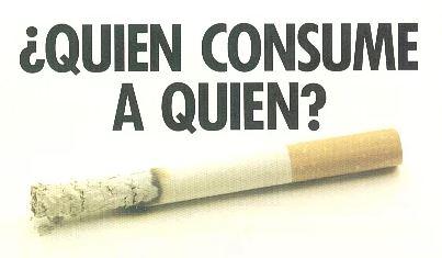 el tabaco es una droga
