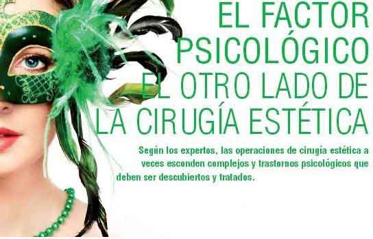 factor psicologico de la cirugia estetica