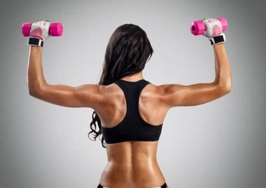realizar ejercicio para eliminar la flacidez en brazos
