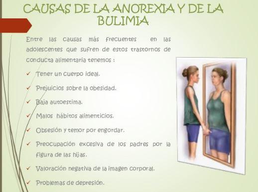 casusas de la anorexia y la bulimia