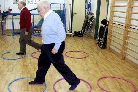 estar activo para combatir el Parkinson