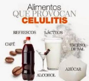 alimentos que benefician la aparicion de celulitis