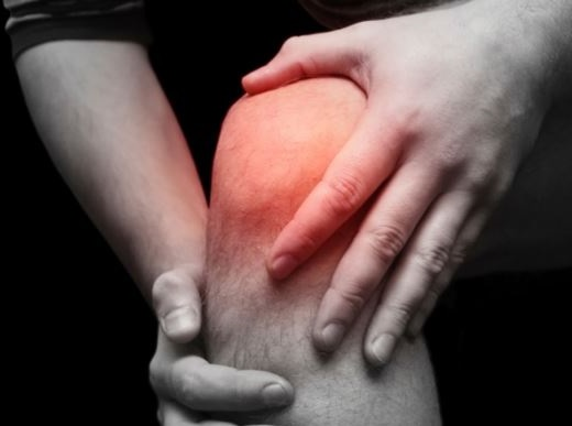 ardor en la rodilla por nervios dañados