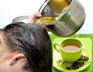 te verde para evitar la caida del cabello