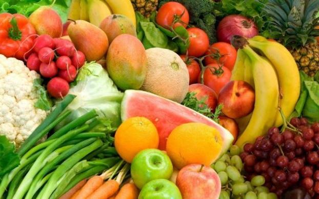 frutas y verduras tienen poca densidad de energia y son perfectas para adelgazar