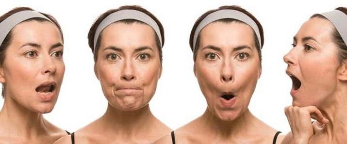 practica ejercicios faciales para eliminar la papada
