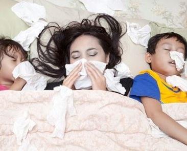 la gripe es altamente contagiosa y se extiende a gran velocidad