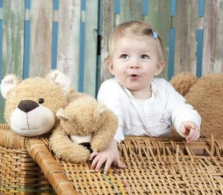 los juguetes con texturas como los peluches son ideales para su desarrollo cerebral