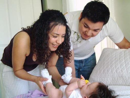 a un bebe hay que enseñarle los nombres correctos de sus partes del cuerpo