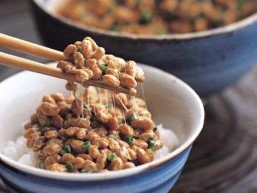el natto es un plato japones rico en probioticos