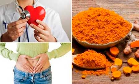 la curcuma es beneficiosa para el corazon y para el estomago