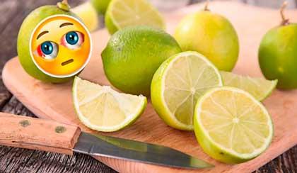el jugo de limon va muy bien para tratar la conjuntivitis