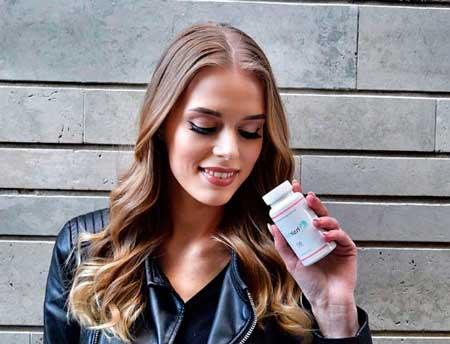 puedes tomar las vitaminas de forma natural o en suplementos para que crezca el pelo
