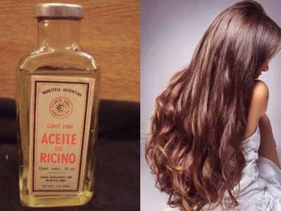 aceite de ricino para el pelo