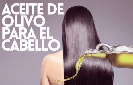 calienta aceite de oliva y echalo sobre el cabello para devolverle la vida