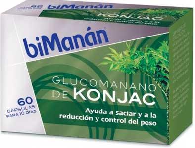 el glucomanano se puede tomar en forma de suplementos o en polvo