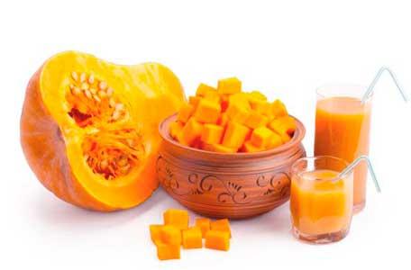 la calabaza es un gran diuretico que ademas contiene zinc y vitamina B