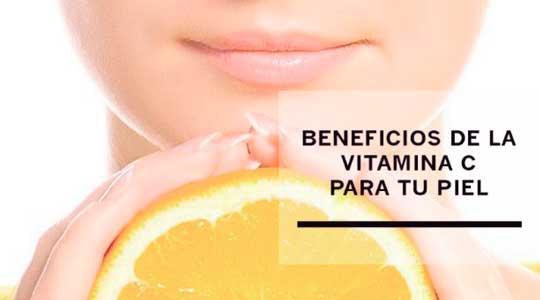 toma vitamina c para cuidar tu piel