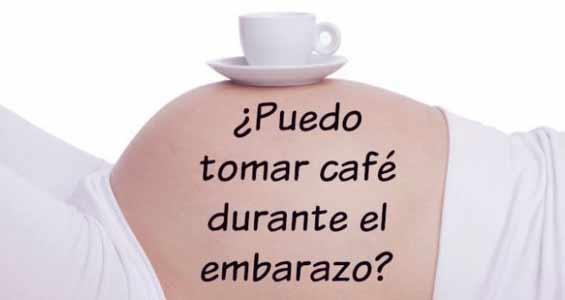 hay que tener cuidado con los posibles riesgos de tomar cafe durante el embarazo