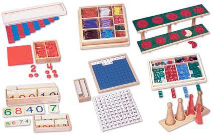 material del metodo montessori