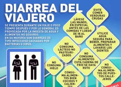 recomendaciones y consejos para prevenir y evitar la diarrea del viajero