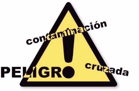 peligros y riesgos de la contaminacion cruzada