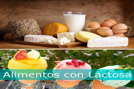 alimentos que contienen lactosa
