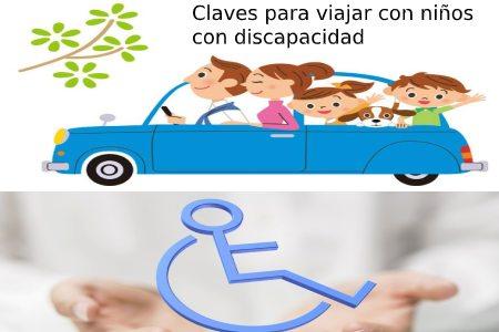claves para viajar con niños con discapacidad