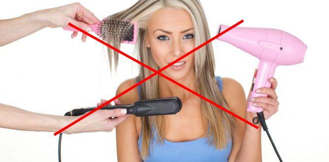secadores y planchas provocan que el pelo se reseque